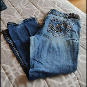 """Silver jeans Frances 18"""""""